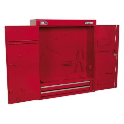 Sealey APW750 Wall Mounting Tool Cabinet with 2 Drawers